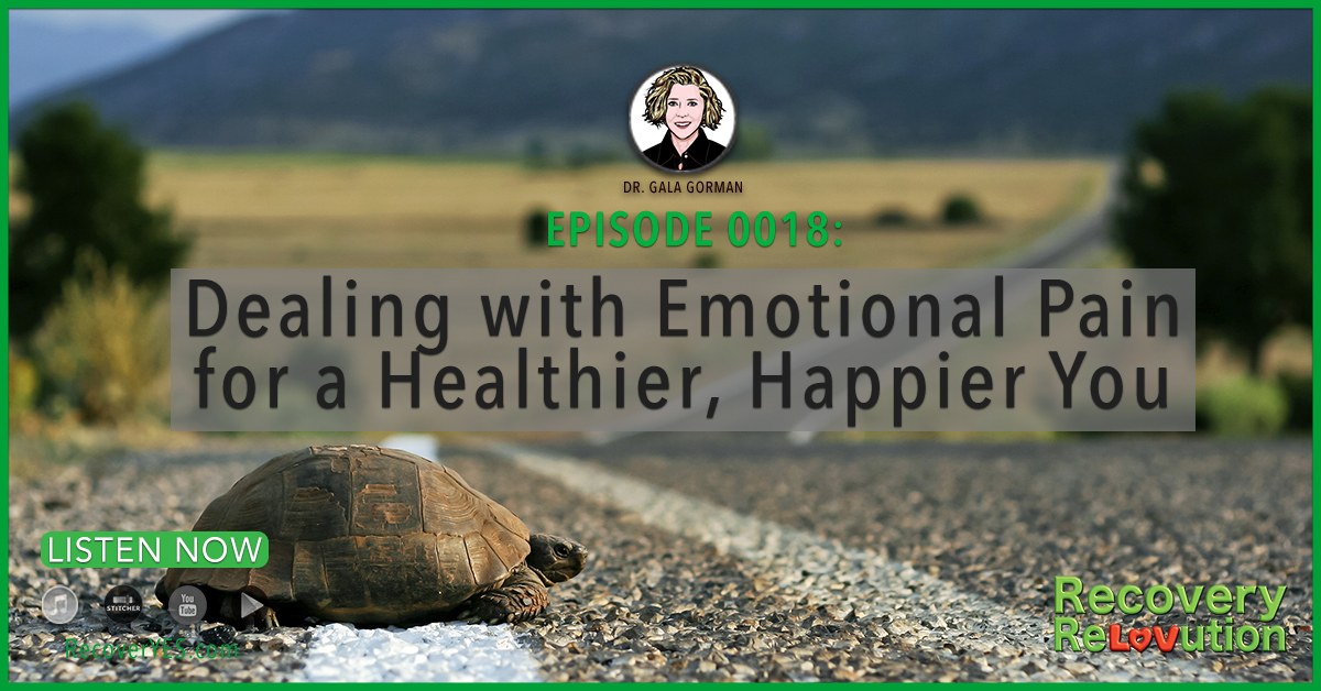 Recovery ReLOVution 0018: Dealing with Emotional Pain for a Healthier, Happier You